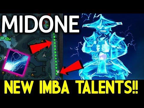 NEW IMBA TALENTS! META BREAKING Storm Spirit by MidOne Dota 2 7.07