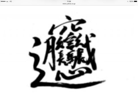 呪文?絵画?幻の「超難解」漢字 中国のネットで話題に 総画数56 どんな意味、読みは