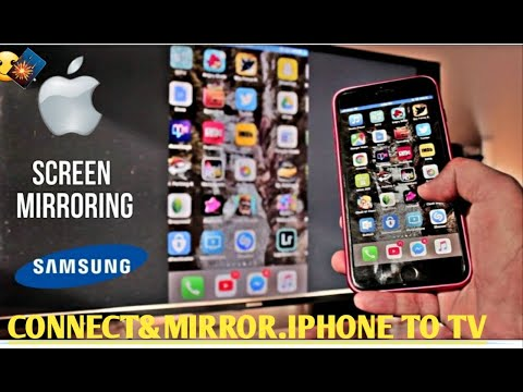 #Cast Screen & Screen Mirroring #iphone To Tv