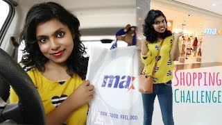 1000 Rs Shopping Challenge - Max Store Shopping Haul | AdityIyer #adityvlogs