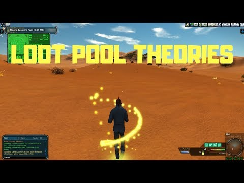 Entropia Universe Mining Loot Pool Theories And A Good AKA Profitable Mining Location On Arkadia