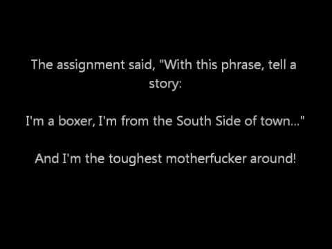 Justin Sane- The Critical Writing Assignment lyrics