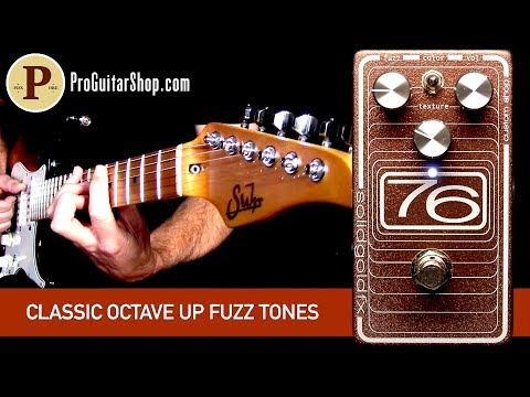 SolidGoldFX 76 Fuzz Custom Aged Copper