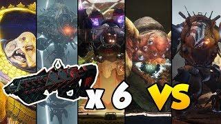 OUTBREAK PERFECTED VS ALL RAID BOSSES!! [Destiny 2]