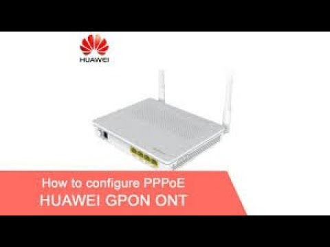 Configuration PPPOE Sur Internet