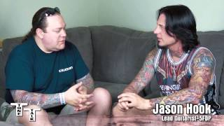 Jason Hook Five Finger Death Punch Interview W Trace Davis Of Voodoo Amps Part 1 Of 3