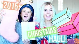 WHAT I GOT FOR CHRISTMAS! Married Gift Swap!  | Aspyn Ovard