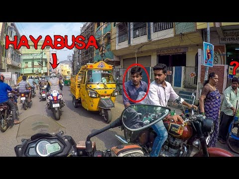 Funny Public reactions on Hayabusa  in India | Indian chief | Benelli GT and Indian Scout in market