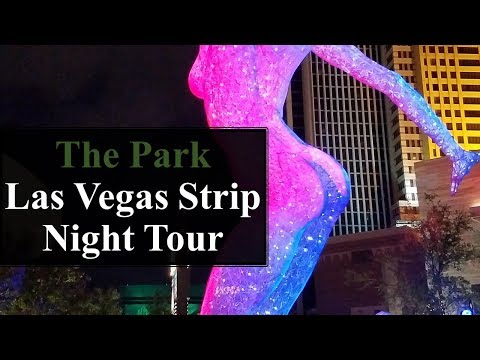 The Park Las Vegas Strip Night Tour..Bliss Dance, T-Mobile Arena