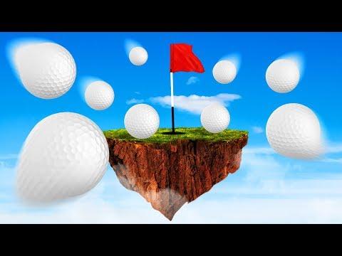 HARDMODE FLOATING MINIGOLF! (Golf it)