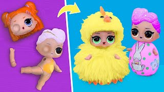 Never Too Old for Dolls! 10 Easter LOL Surprise DIYs