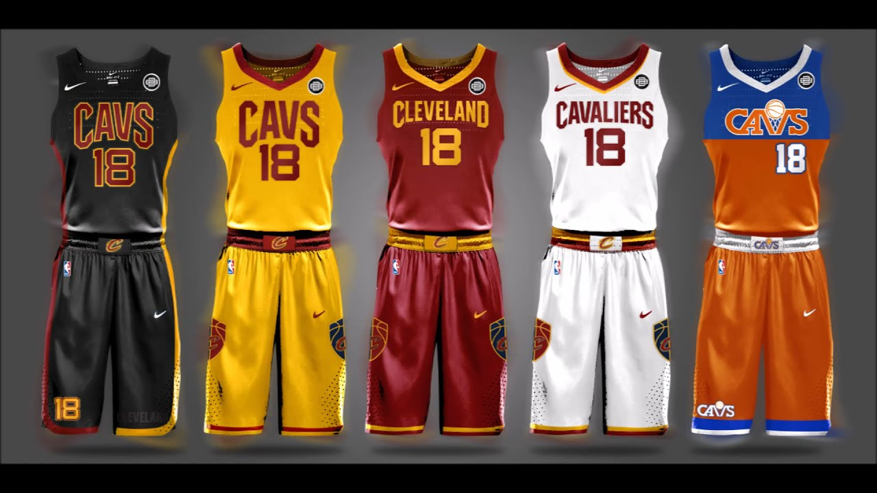 2017 2018 Nba New Nike Jersey Concepts For Every Team