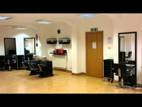Training Hair Salon for students @The Studio Academy