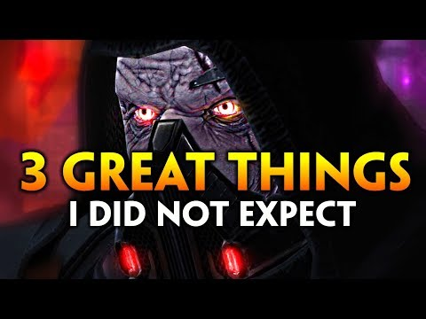 3 Great Things I Did NOT Expect in Jedi Under Siege (SWTOR)