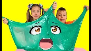 Dominika and Richard make a Giant slime
