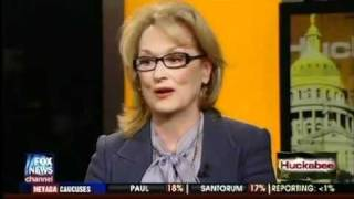 Meryl Streep on The Huckabee Show - Part 1 of 2