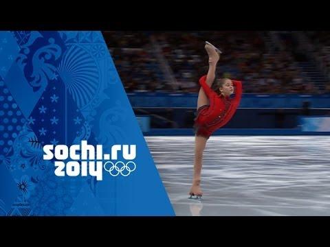 Yulia Lipnitskaya's Phenomenal Free Program - Team Figure Skating   Sochi 2014 Winter Olympics