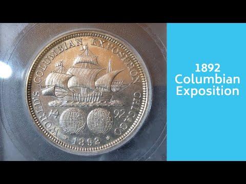 1892 Columbian Exposition Commemorative Half Dollar