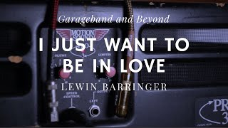 """I Just Want to be In Love"" Lewin Barringer - AKG 414XLS on Vocals"