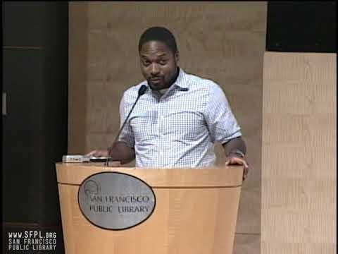 2008 Litquake Bryant Terry Grub at the San Francisco Public Library
