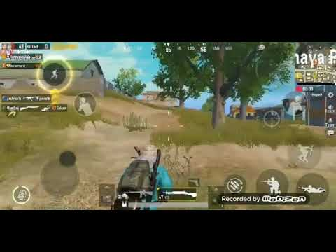Pubg Mobile: New Video Solo Vs Scoutr. Kill With Dp-28  1/4