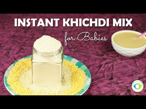 Instant Khichdi Mix for Babies | Instant Baby Food/Travel Food | 6 months+ baby food