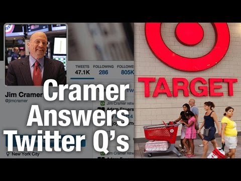 Jim Cramer Surprised by Target Mgmt. Moves, Says Not a Reason to Buy