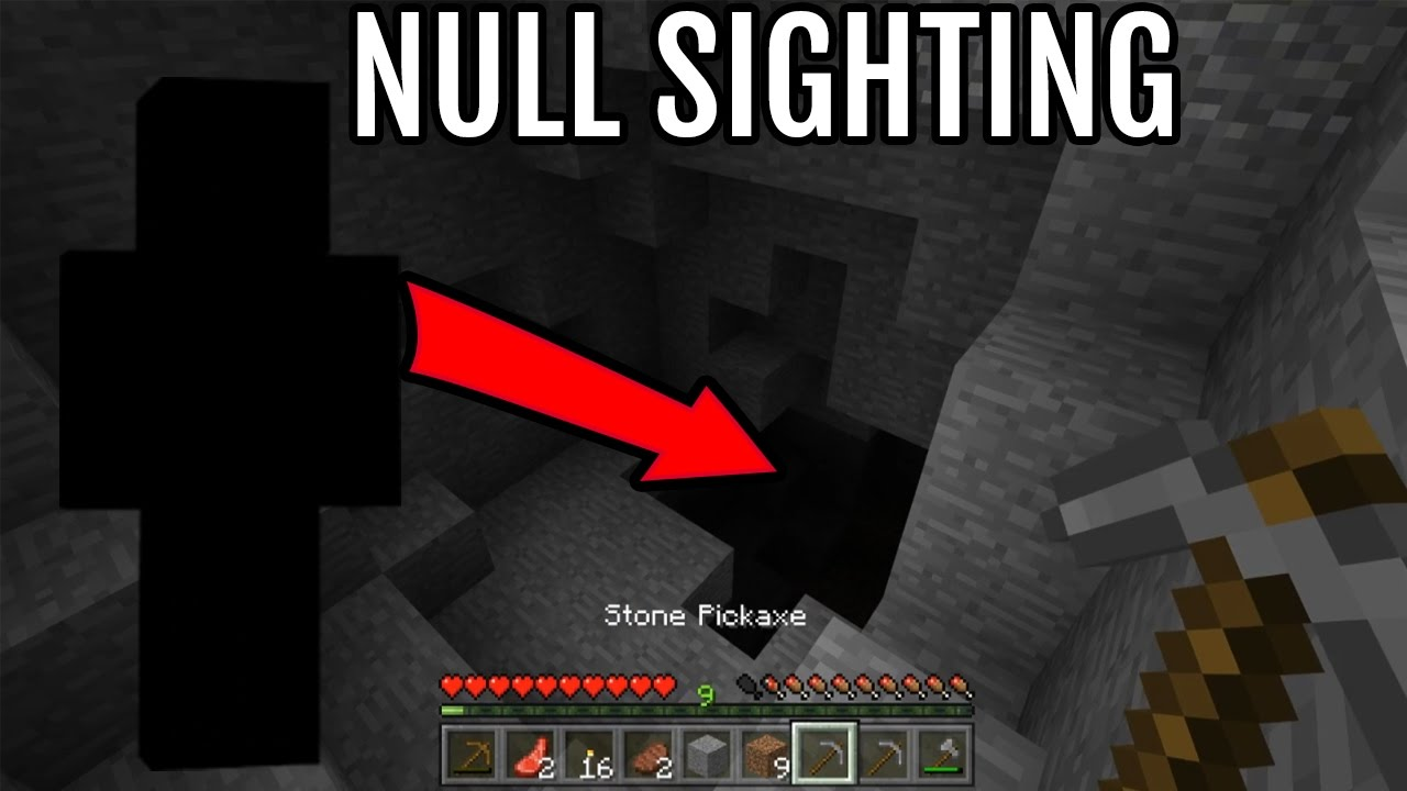 Do Not Play On This Minecraft Seed I Found Null In Minecraft