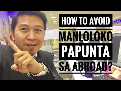 HOW TO AVOID MGA MANLOLOKO PAPUNTA SA ABROAD? (via FB Live)
