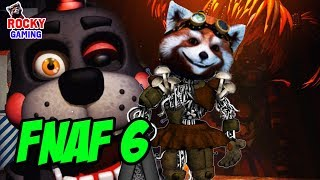 - РОККИ играет в FIVE NIGHTS AT FREDDYS 6 Pizzeria Simulator Часть 1.