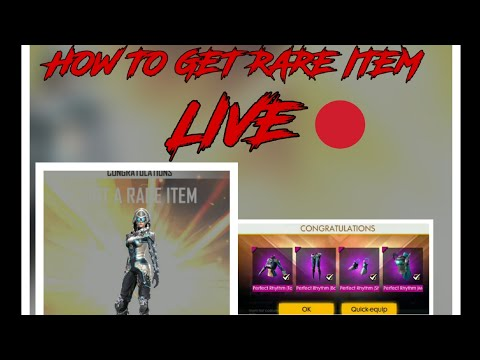 How to get rare item live and DJ female bundle emote free free