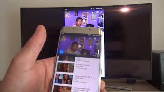 Aprenda a Conectar um Smartphone Galaxy a TV Samsung via Screen Mirroring