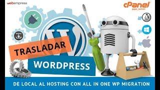 WordPress de local al Hosting - Backup en Windows