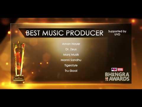 Best Music Producer @ UK Bhangra Awards 2016
