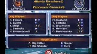 NHL 2002 XBox - Gameplay footage part 1 of 2