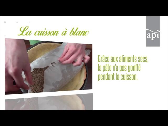 La cuisson à blanc