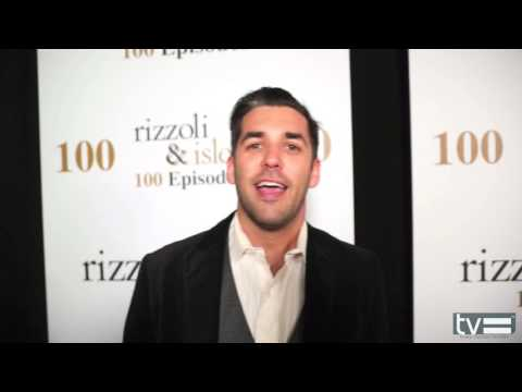 Jordan Bridges   Rizzoli & Isles 100th Episode