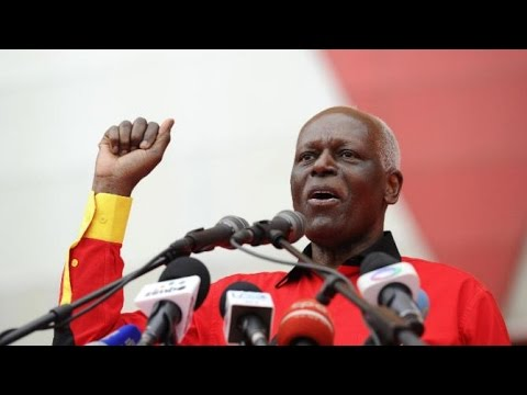 Angola's Jose Eduardo dos Santos 'to step down in 2018'