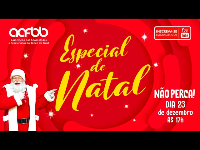 Especial de Natal AAFBB 2020 | Papai Noel tem uma mensagem para você!
