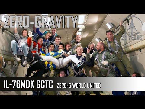 ZeroG Flight 16.10.2014 - World United - Ilyushin 76MDK - Gagarin Cosmonaut Training Center