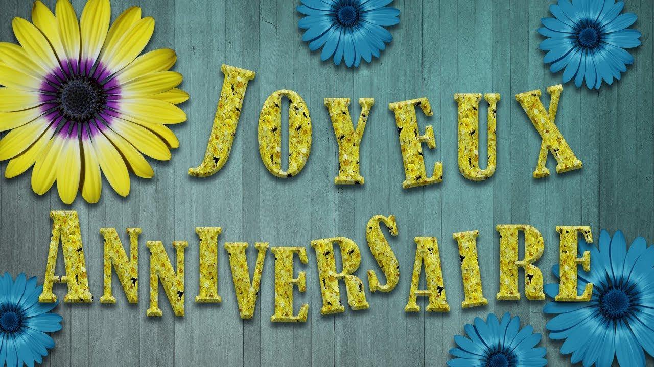 Joyeux Anniversaire Jolie Carte Virtuelle D Anniversaire Avec Soleil Et Bonne Humeur Youtube