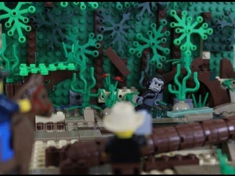 Lego Bigfoot And Yeti