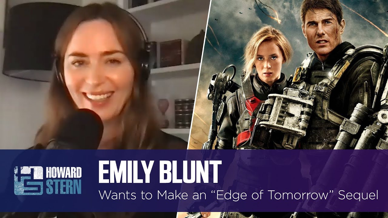 """Emily Blunt Explains Why There Hasn't Been a Sequel to """"Edge of Tomorrow"""""""