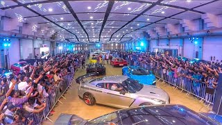 Pete's Festival of speed 2018 supercars & Superbikes kochi India - HD