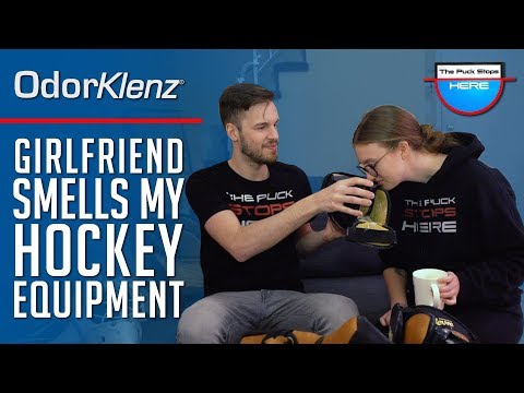 Girlfriend Smells My Hockey Equipment | OdorKlenz Sports Powder Review