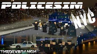 POLICESIM: NYC | PRE-ALPHA RELEASE | ⛄ SALE[Roblox]