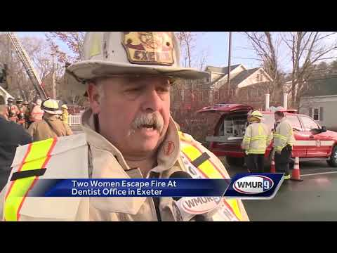 Employees escape before fire destroys Exeter dental office