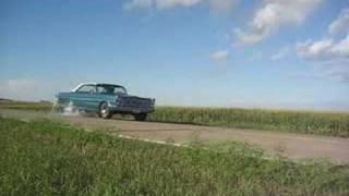 1965 Ford Galaxie 500 Burn Out