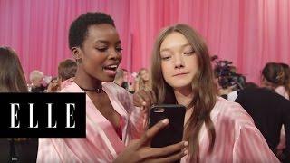 Victoria's Secret Backstage Karaoke   ELLE