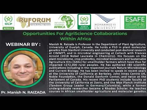Opportunities For AgriScience Collaborations Within Africa